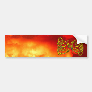 DRAGONLOVE BUMPER STICKER