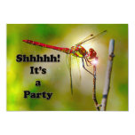 "Dragonlyte Surprise party invite 5"" X 7"" Invitation Card"