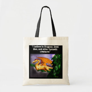 """dragonnnn, """"I believe in Dragons, Good Men, and... Tote Bag"""