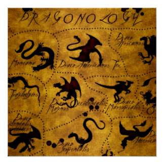Dragonology 1 poster