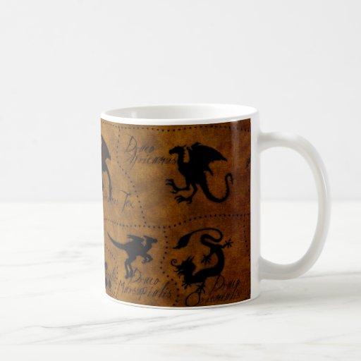 Dragonology Classic White Coffee Mug