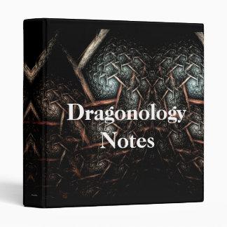 DRAGONOLOGY NOTES Binder Design
