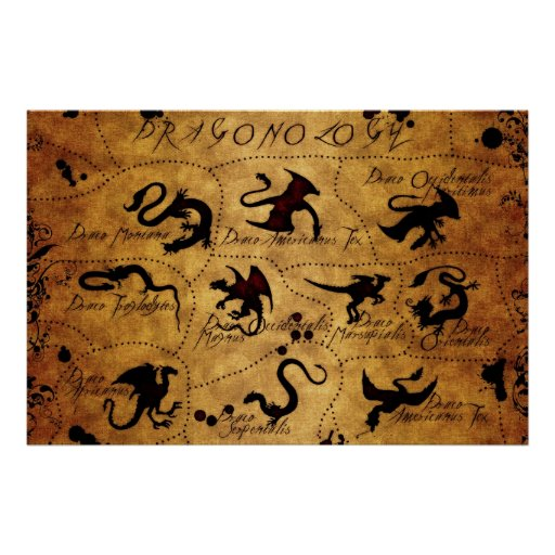 Dragonology Poster
