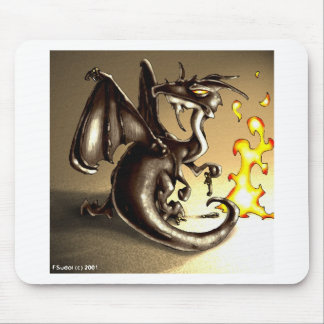 DragonRage4 Mouse Pad