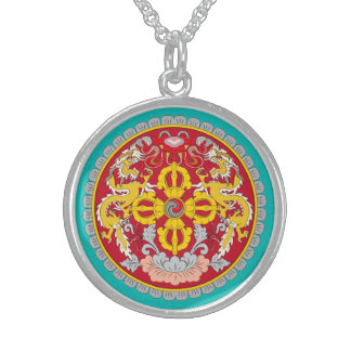 Dragons and Lotus flower Necklace