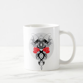 Dragons and Roses Classic Mug