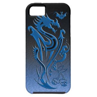 Dragons & Bat blue iPhone SE/5/5s Case