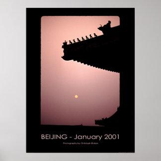 Dragons - Beijing 2001 Poster