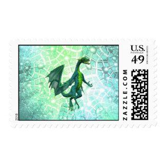 Dragons Breath Postage Stamp