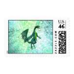 Dragons Breath Postage Stamp