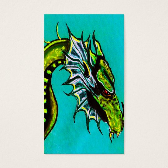 dragons business card