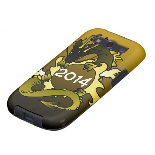"Dragons ""Class Of"" Black and Gold Samsung Galaxy SIII Covers"