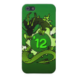 """Dragons """"Class Of"""" Black and Green iPhone 5 Cover"""