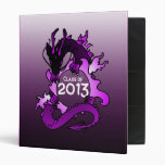 """Dragons """"Class Of"""" Black and Purple Binder"""