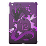 """Dragons """"Class Of"""" Black and Purple Case For The iPad Mini"""