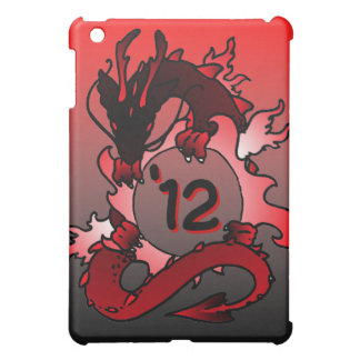 """Dragons """"Class Of"""" Black and Red iPad Mini Covers"""