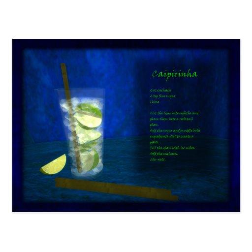 Dragons Cocktail Bar: Caipirinha Postcard