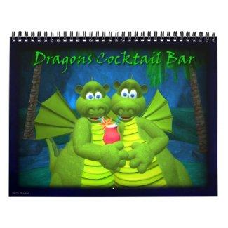 Dragons Cocktail Bar calendar