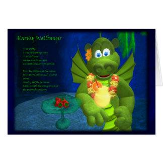 Dragons Cocktail Bar: Harvey Wallbanger Card