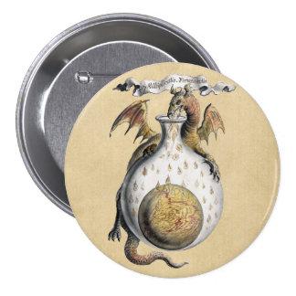 Dragon's Crucible Pinback Button