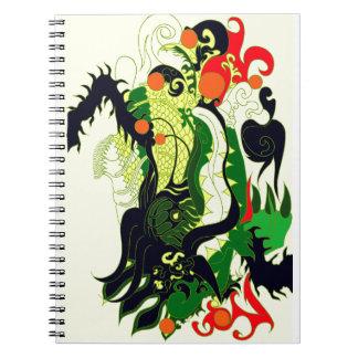 Dragons Den (Parchment) Notebook