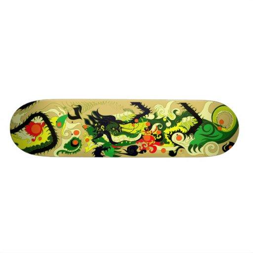 Dragons Den (Parchment) Custom Skateboard