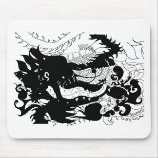 dragons Den Silhouette Mousemats