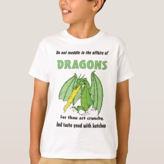 Dragons Do Not Meddle in Their Affairs T-Shirt