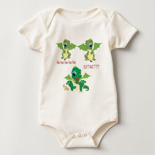dragons extinct baby bodysuit
