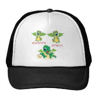 dragons extinct trucker hat