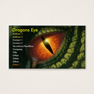 Dragons Eye Business Card