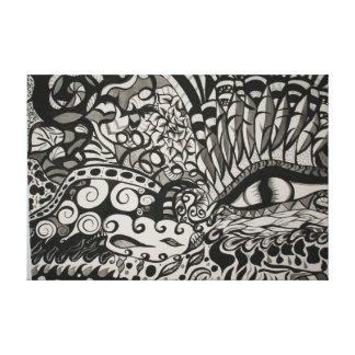 Dragons Eye Canvas Print