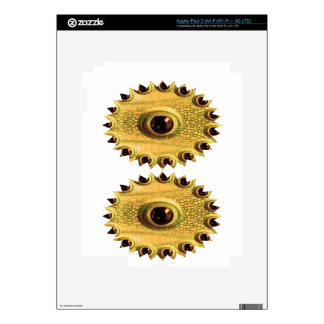 DRAGON's Eye - Golden Chinese Art iPad 3 Skin