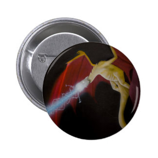Dragon's Fight Back Pinback Button