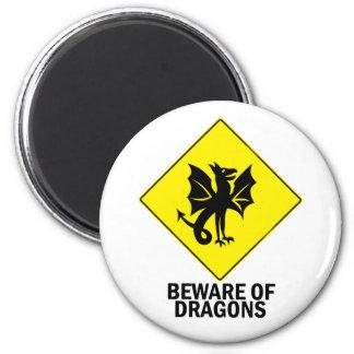 Dragons Fridge Magnets
