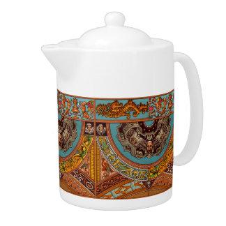 Dragons & Gargoyles Teapot