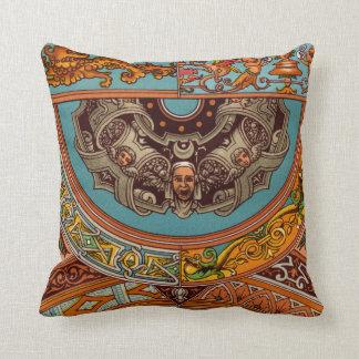 Dragons & Gargoyles Throw Pillow