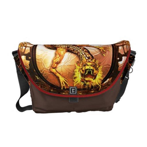 Dragon's Gate - Rickshaw Messenger Bag