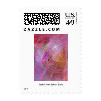 Dragon's Gem Postage Stamps