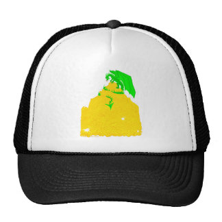 Dragon's Greed Mesh Hats