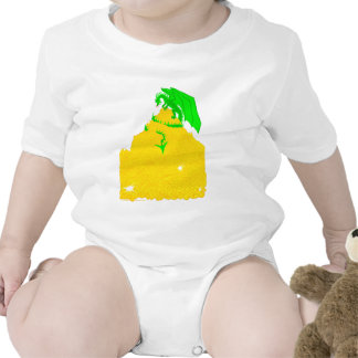 Dragon's Greed Baby Bodysuits