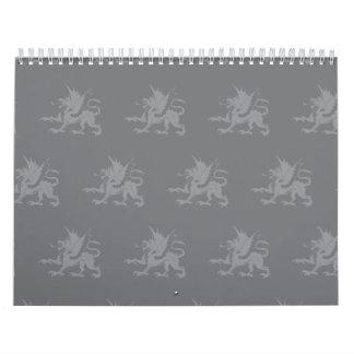 Dragons Greys Calendar