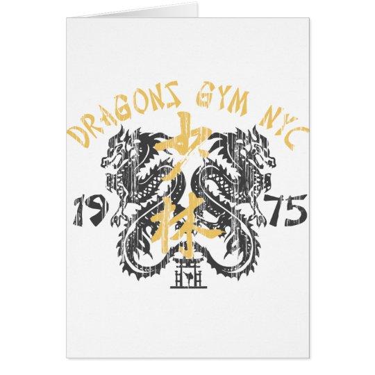 Dragon's Gym 1975 Card