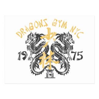 Dragon's Gym 1975 Postcard