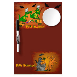Dragons - Happy Halloween ! Today I will cook Dry Erase Board With Mirror