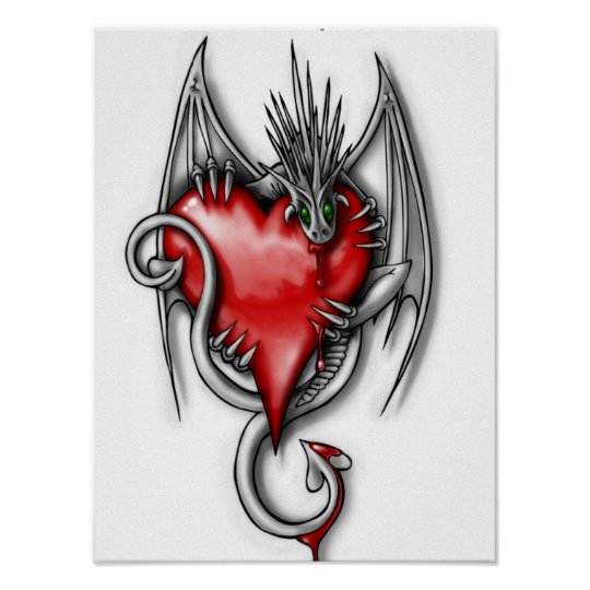 Dragon's Heart Poster