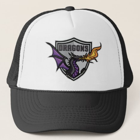 Dragons Hockey Logo Trucker Hat