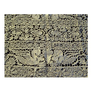Dragons in Antique Lace Postcard
