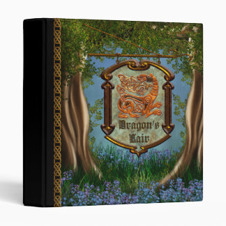 Dragons Lair Fantasy Notebook Binder