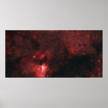 Dragon's Lair - M17 Nebula Poster
